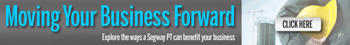 Moving your business forward  - Explore the ways a Segway PT can benefit your business