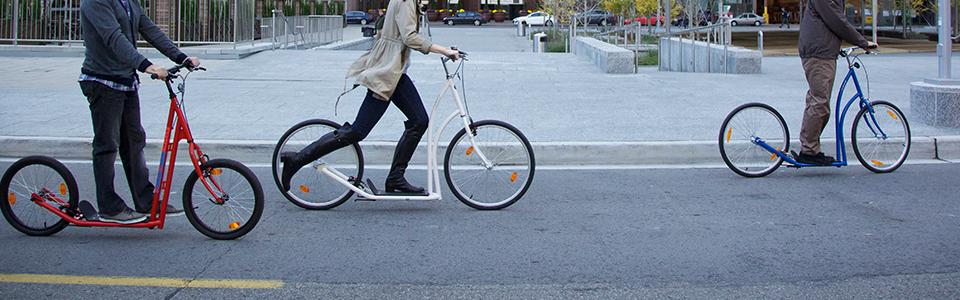 Sidewalker-scooters